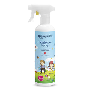Happyganics Disinfectant Spray (Kills 99.9% germs) - 500ml 安全消毒噴霧