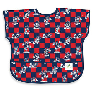 Junior Bib - Bumkins - Disney Mickey Mouse Checkered 1-3Y