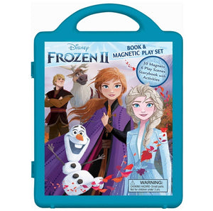 Frozen II Storybook Paperback & Magnetic Play Set 冰雪奇緣磁石連圖書收納套裝
