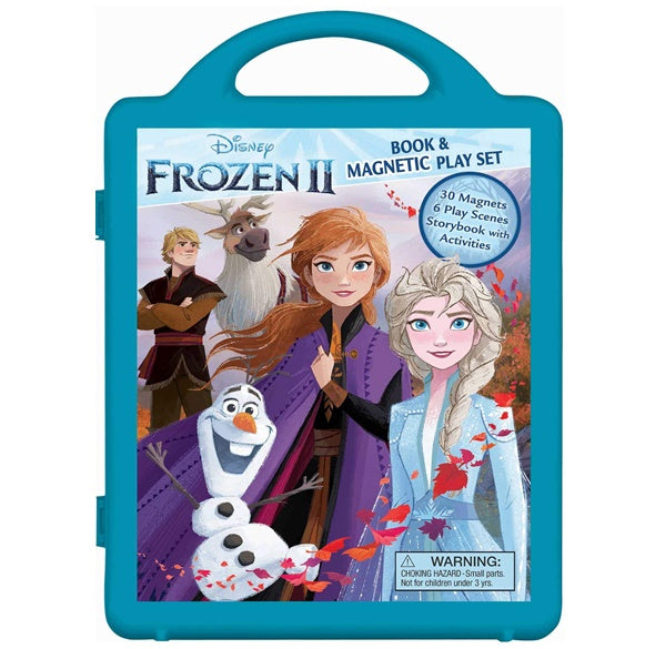 Frozen II Storybook Paperback & Magnetic Play Set