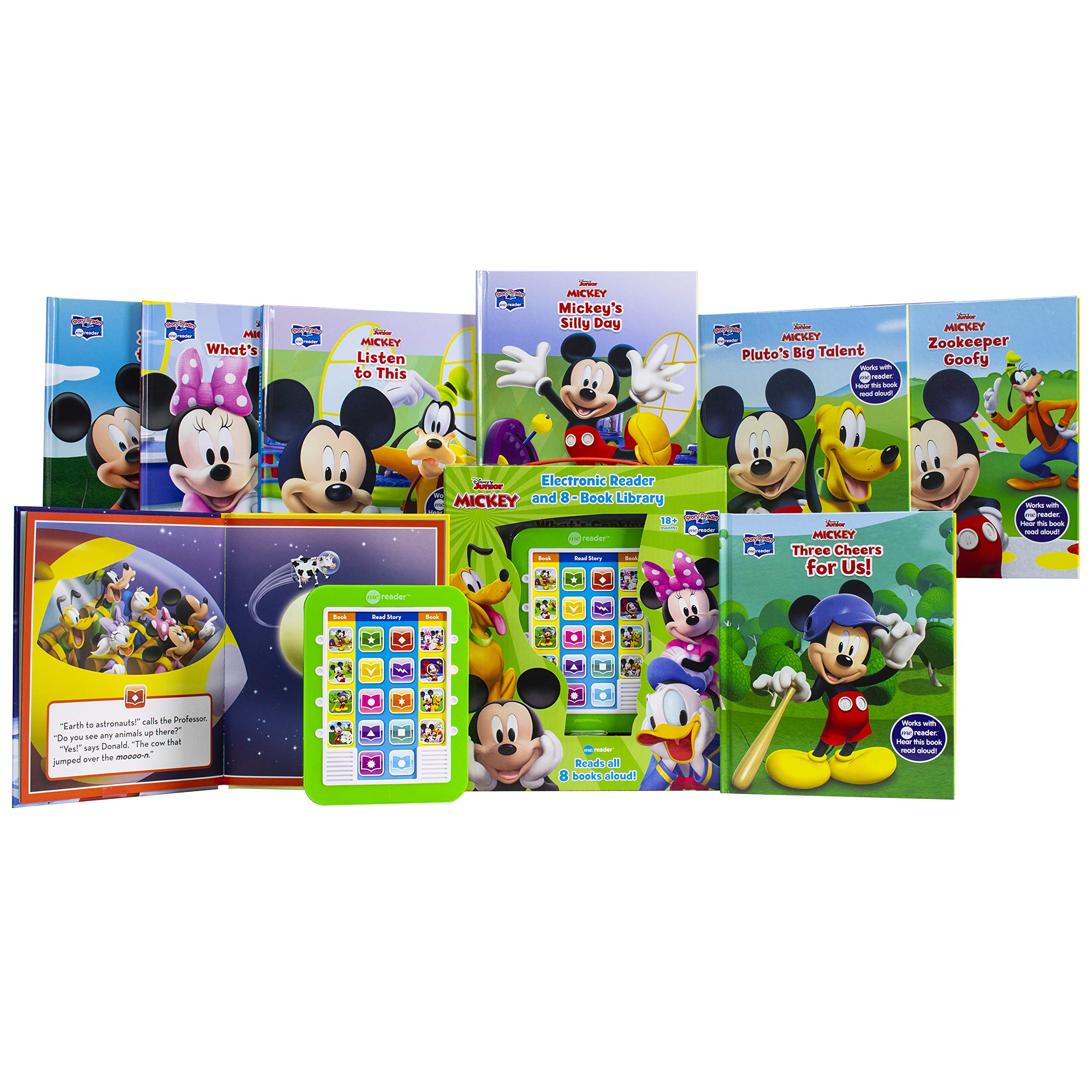 Disney Mickey Mouse - Me Reader Electronic Reader 米奇故事電子閱讀器連八本書套裝