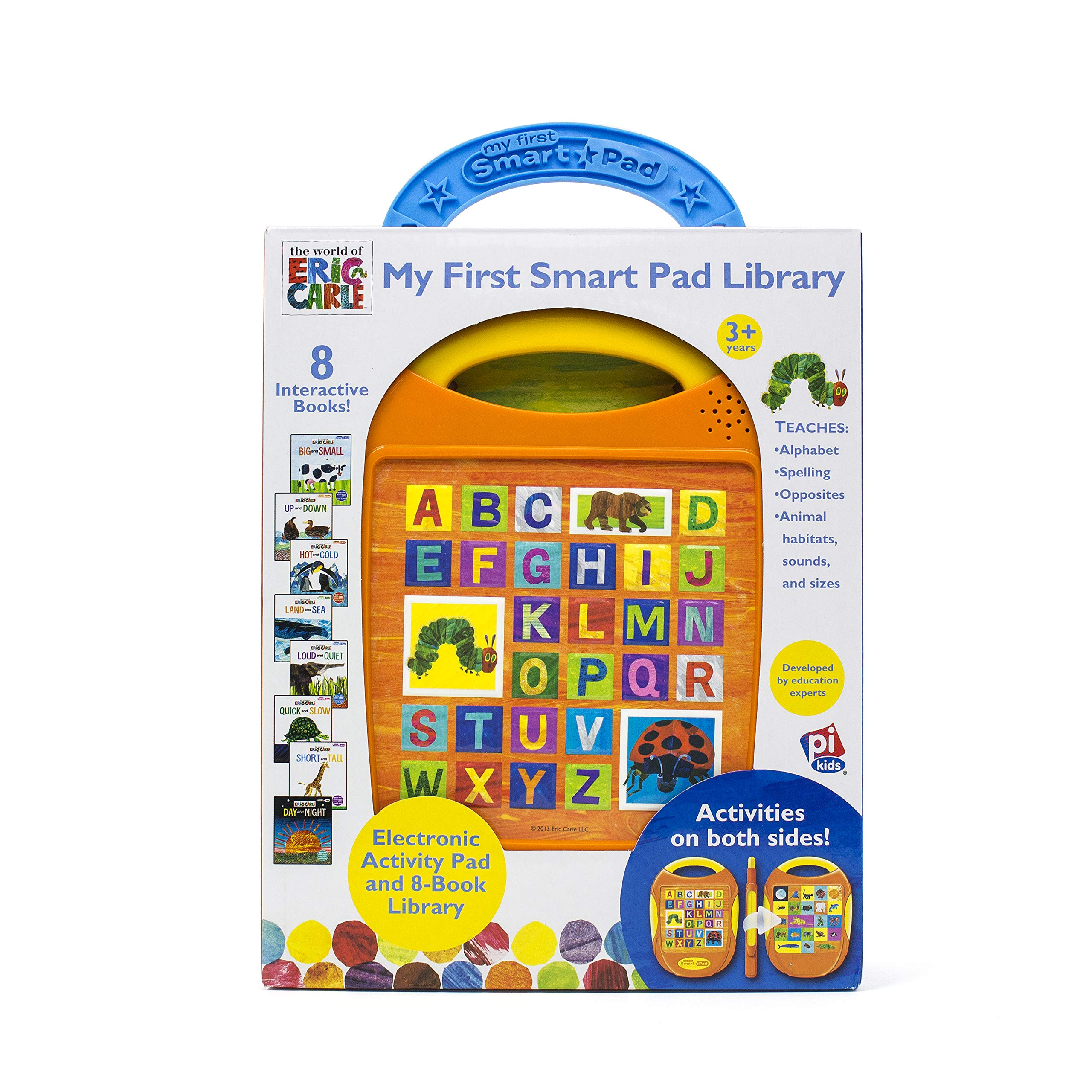 My First Smart Pad Library Electronic Activity Pad and 8-Book Library
