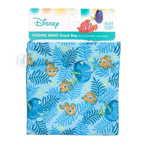 Bumkins Snack Bag Set of 2 - Finding Dory, BPA Free 食用級環保食物拉鏈袋 一套2個