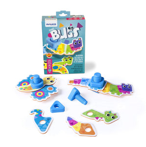 Flexi Bugs Construction Kit for Kids 扭螺絲 / 螺絲母併圖玩具