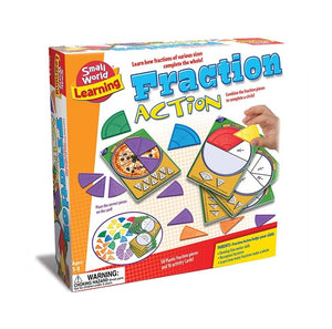 Fraction Action Game 份數概念桌遊