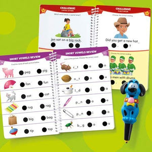 Hot Dots Jr. Let's Master Kindergarten Reading