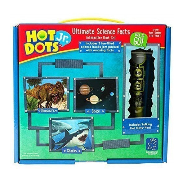 Hot Dots Jr. Ultimate Science Facts