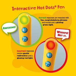 Hot Dots Jr. Let's Master 1st Grade Math