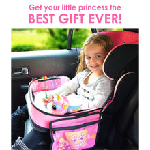 Load image into Gallery viewer, Travel Tray for Girls Toddler Car Seat Travel Play Activity