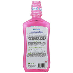 Kid's Spry Mouth Wash Natural Bubble Gum, 16 fl oz (473 ml) 安全無酒精天然兒童漱口水