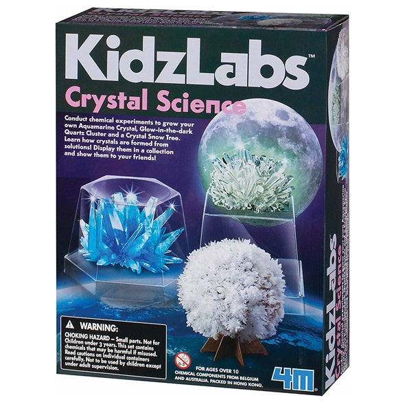 KidzLabs Crystal Science Kit