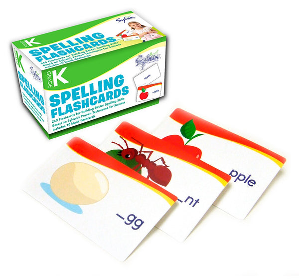 First Grade Spelling Flashcards 初小程度230個字詞認字卡, Age 5+