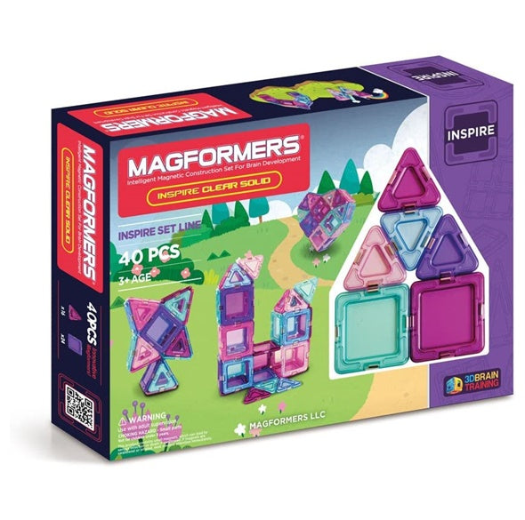 Magformers Solid Inspire Set (40-Pieces)