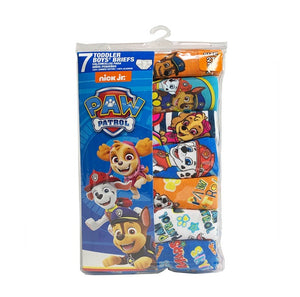 Nickelodeon Paw Patrol Toddler Boys Brief Underwear, 7-Pack (Size 2T-3T)