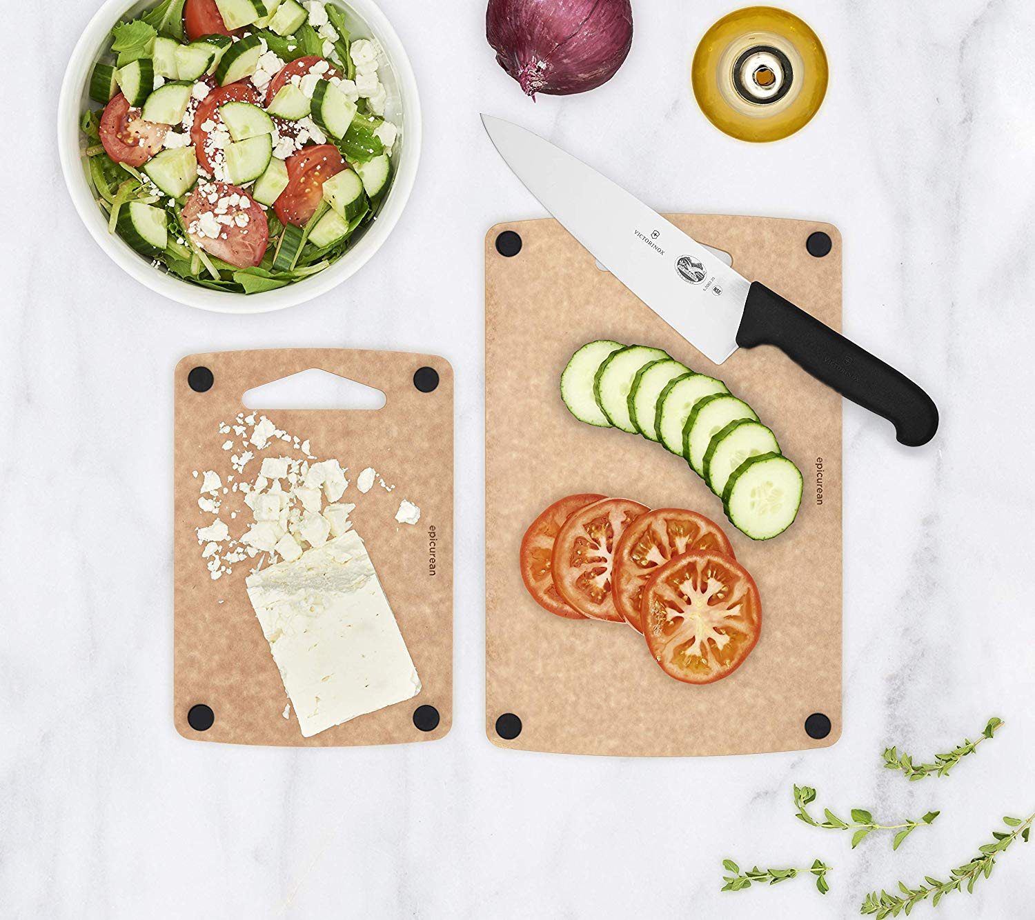 Nonslip Cutting Boards by Epicurean, 2 Piece