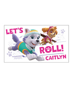 PAW Patrol 'Let's Roll' Personalized 20-Oz. Water Bottle