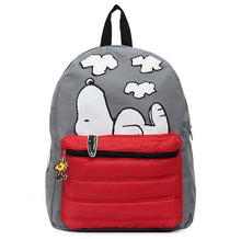 Load image into Gallery viewer, Peanuts Snoopy on Doghouse Backpack