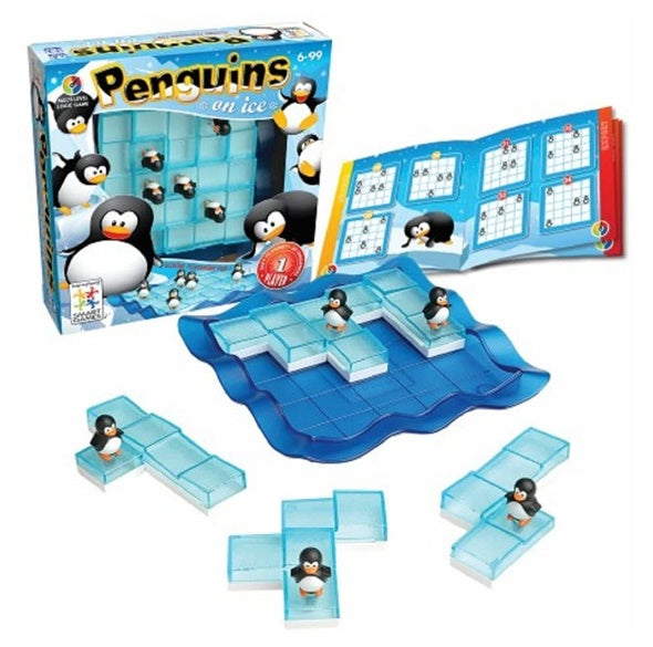 Smart Games Penguins on Ice Logical Training Game  冰上企鵝大挑戰 - 邏輯推理過關遊戲