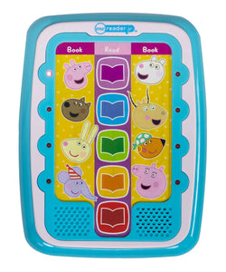 Peppa Pig Electronic Me Reader Jr & Sound Book Library Set / Peppa Pig 幼兒版電子閱讀機連8本書