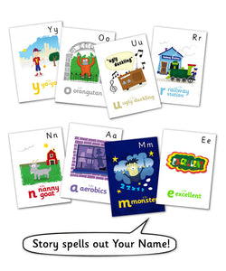 My Name Is Personalized Storybook