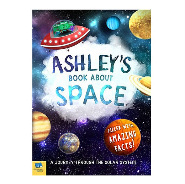 My Book About Space Personalized Paperback