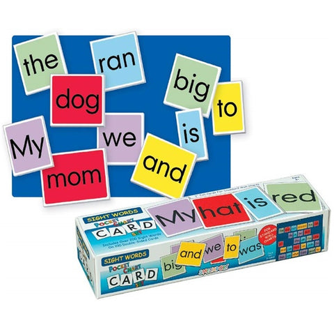 Pocket Chart Cards - Sight Words