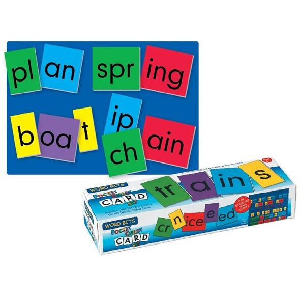 Pocket Chart Cards - Word Bits