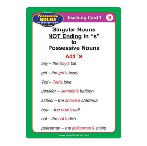 Possessive Nouns in Sentences