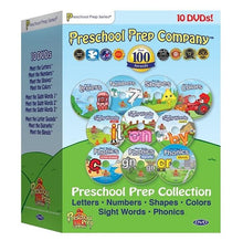 Load image into Gallery viewer, Preschool Prep Series Collection - 10 DVD Boxed Set