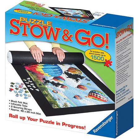 Puzzle Stow and Go Storage System