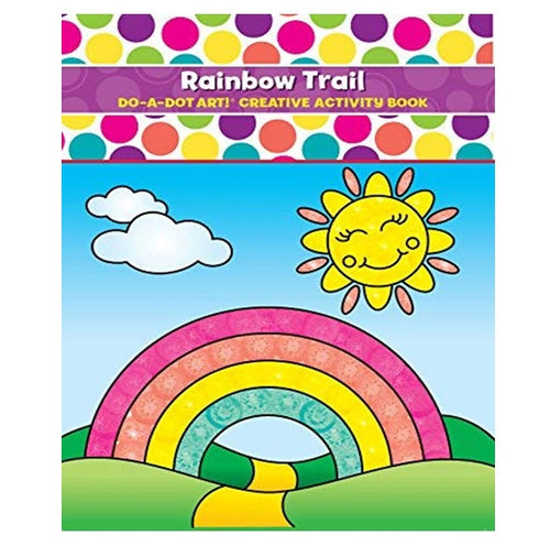 Creative Art & Activity Book - Rainbow Trail