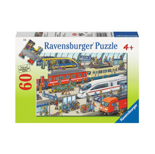 Load image into Gallery viewer, Railway Station 60-Piece Puzzle
