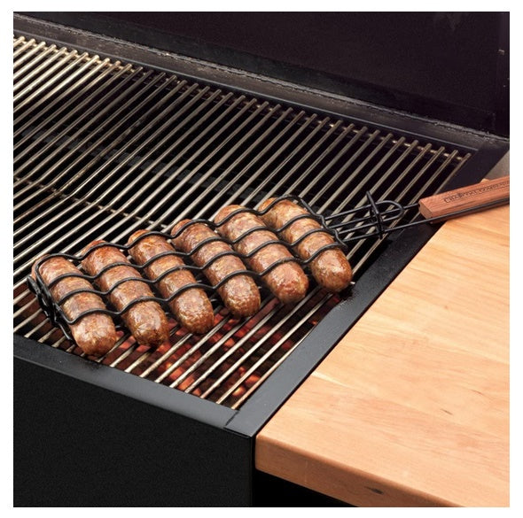 Non-Stick Adjustable Sausage Grilling Basket 香腸燒烤夾, BBQ工具