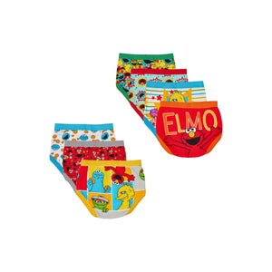 Sesame Street Toddler Boys Brief Underwear, 7-Pack (2T-3T)