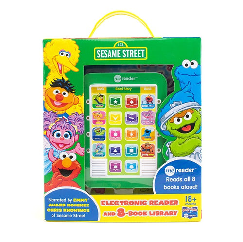 Sesame Street Electronic Book