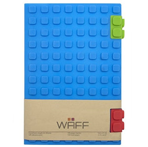 Soft Silicone Cube Tiles And Notebook / Journal Combo (Large)