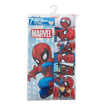 Load image into Gallery viewer, Spider-Man Toddler Boys Brief Underwear, 7-Pack (4T)