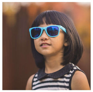 Sunglasses for Youth - Ages 7+, Unbreakable, Iconic 80s Style, 100% UVA UVB Protection 得獎中童太陽眼鏡