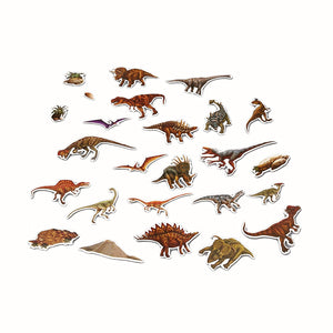 Dinosaurs Magnetic Tin Playset