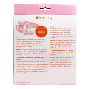 Thinkbaby Complete BPA Free Feeding Set (Pink)