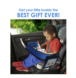 Travel Tray for Boys Toddler Car Seat Travel Play Activity (Space)