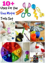 Load image into Gallery viewer, Fine Motor Tool Play Set 寫字小肌肉訓鍊工具