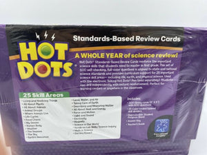 Hot Dots Science Standards-Based Review Cards - Grade 1