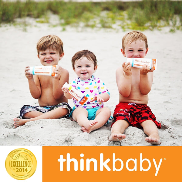 Thinkbaby Safe Sunscreen SPF 50+ (3 ounce) 嬰幼兒適用防曬霜 SPF 50