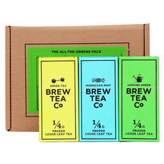 Brew Tea Co USA All The Greens Tea Pack
