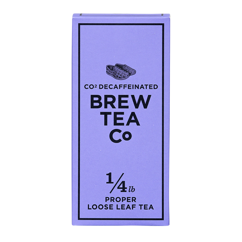 CO2 DECAF BLACK TEA - LOOSE LEAF TEA