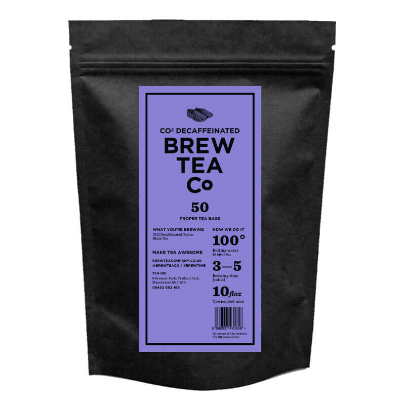CO2 DECAFFEINATED TEA - PROPER TEA BAGS