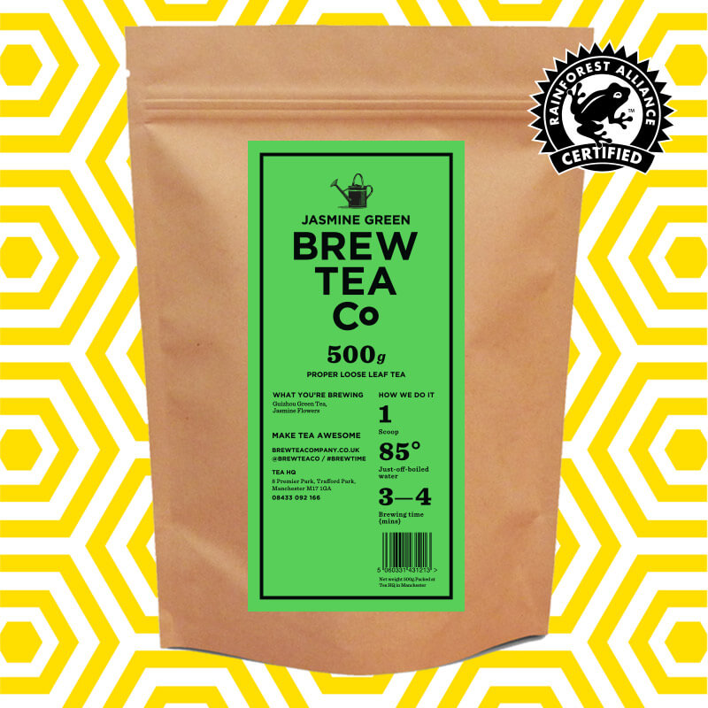 COLD BREW - JASMINE GREEN