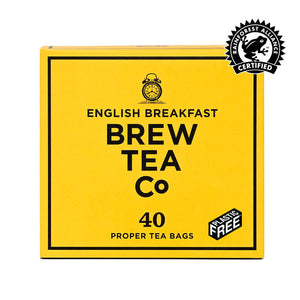 ENGLISH BREAKFAST - PROPER TEA BAGS