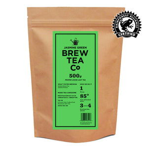 JASMINE GREEN - LOOSE LEAF TEA